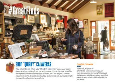 Shopping Guide for Calaveras Tourism