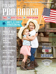 Cover for the Folsom Pro Rodeo Program