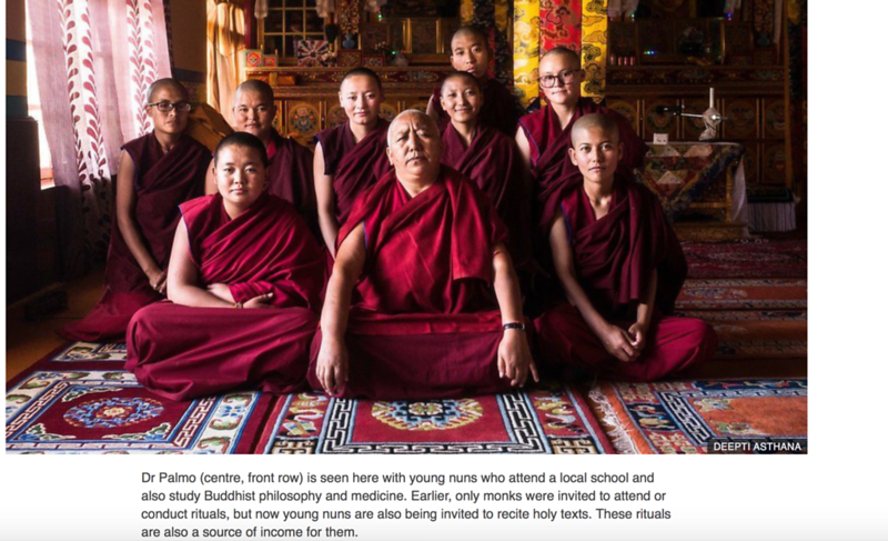 Sisterhood of Himalayan nuns - BBC News