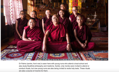 Sisterhood of Himalayan nuns - BBC News