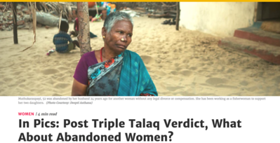 The Quint- Abandoned Women of India