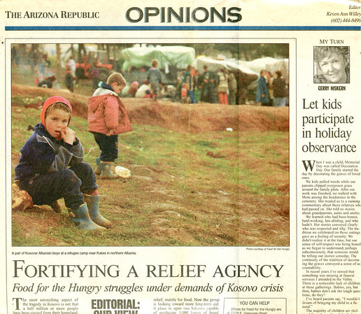 Fortifying a Relief Agency