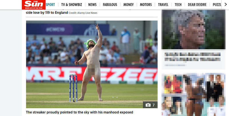 The Sun On line - 3rd July 2019