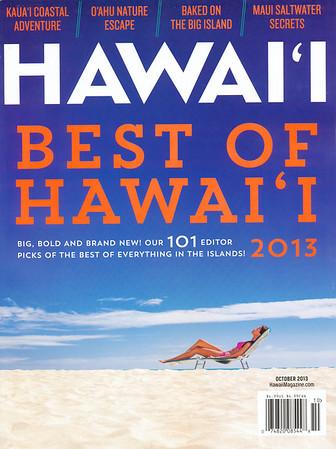 Hawaii Magazine - October 2013 Cover