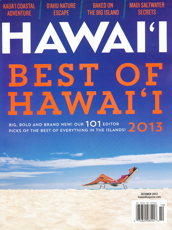 Hawaii Magazine - October 2013 Cover