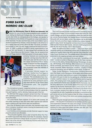 Ford Sayre Nordic Ski Club