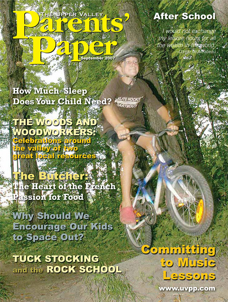 The Upper Valley Parent's Paper, September 2007