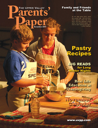 The Upper Valley Parent's Paper, November 2007