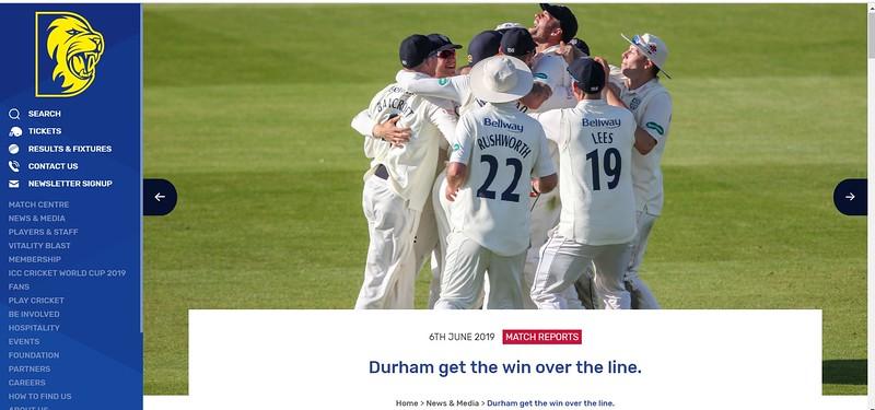 Durham CCC Website