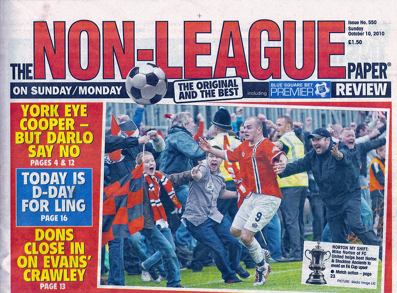 The Non League Paper - Sunday 10th October 2010