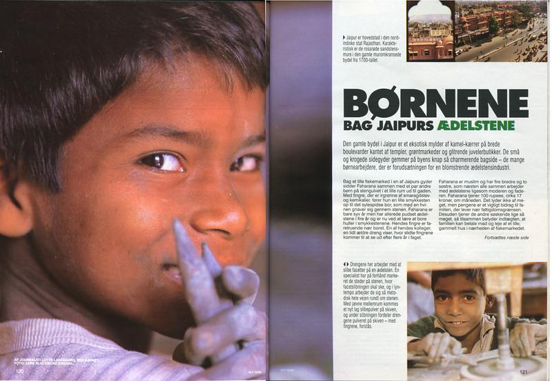 Børnene Bag Jaipurs Ædelstene
