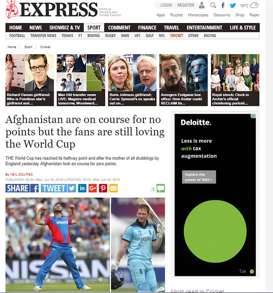 Daily Express - 18th June 2019