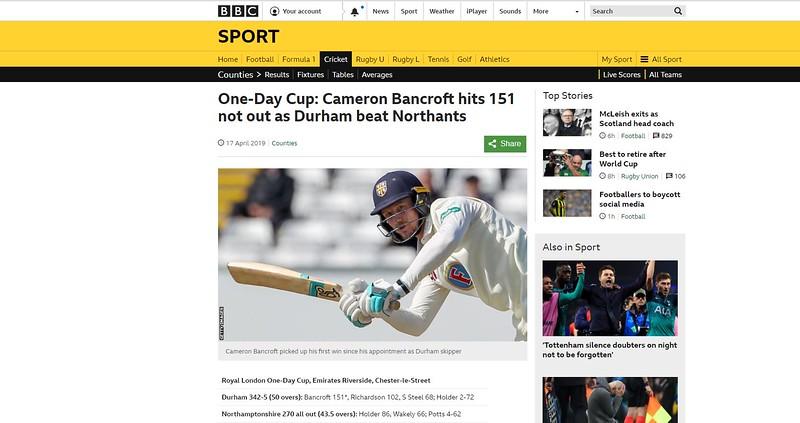 BBC Website (via Getty Images)