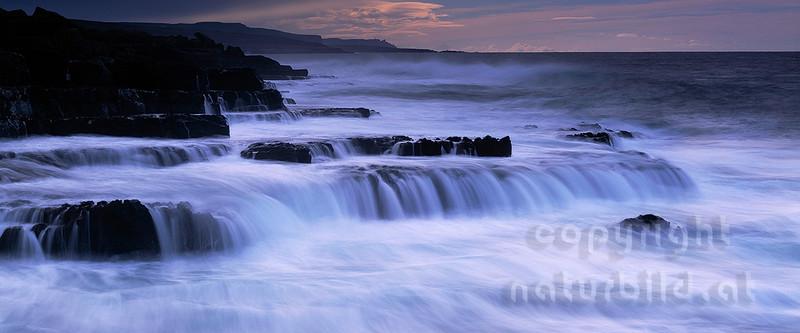 Irland : Felsenküste am Burren - Grafschaft Clare