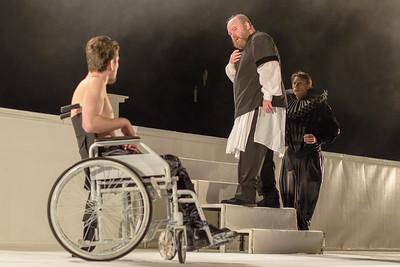 """Piesa de teatru """"Regele Lear"""" Teatrul National """"I.L. Caragiale"""" Bucuresti"""