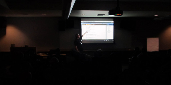 Dane Morgridge at the Redmond .Net User Group