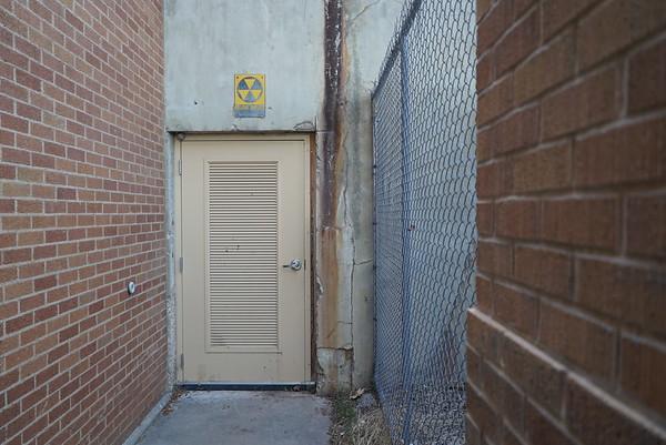 Tech Ed Bomb Shelter Sign
