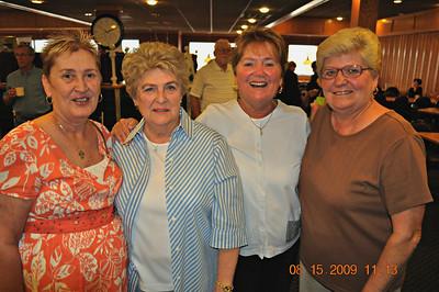 Dena Russell Meehan, Donna Joyce Monaghan, Judy Jones Circo & Billie Gordon Watsabaugh