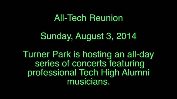 Tech - Sunday Concert