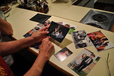 Some photos Billie brought