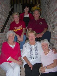 Top:  Diane (Lane) Webb Billie Rose (Gordon) Watsabaugh Donna (Joyce) Monaghan Judy (Jones) Circo Penny Schuette (Ray's wife)