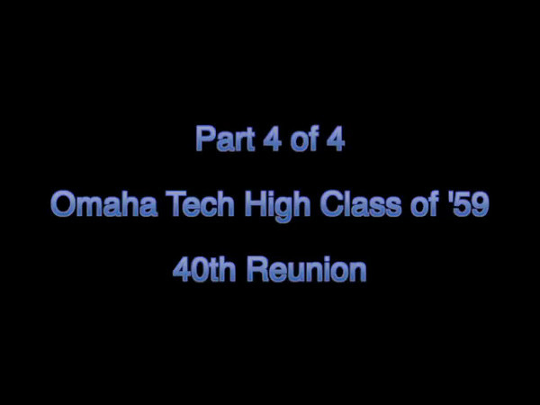 Tech Class of '59 Reunion - # 4 of 4 -