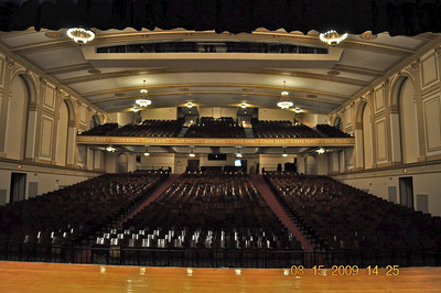 Our beautiful auditorium