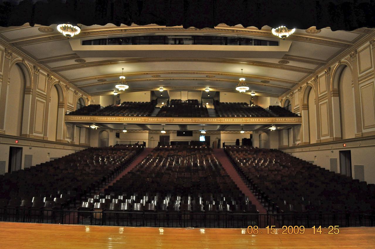 Our beautiful auditorium