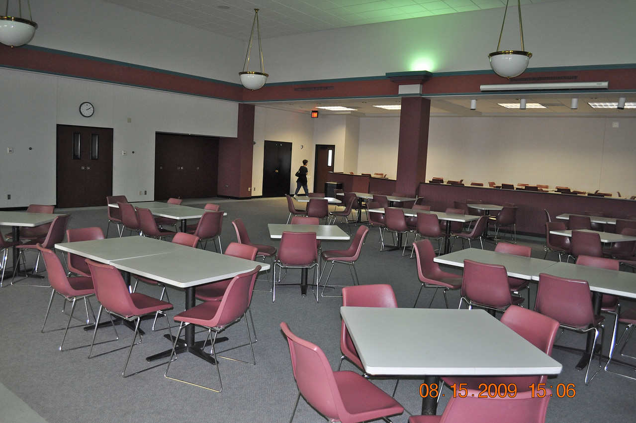 Our lunch room that has obviously been re-decorated