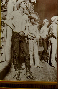 Jim Houston from our class during his rodeo days