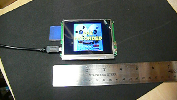 LCD Mic Flag Project