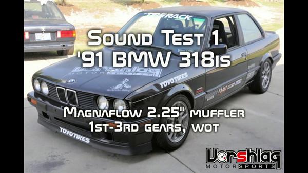 Exhaust Sound Testing - vorshlag