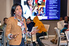 Shameka McCaskill leads a programming demonstration at the Techbridge Girls STEM learning experience led by Leidos employees on November 29, 2016 in the Leidos Conference Center in Reston, VA. Photos can only be used for editorial purposes.