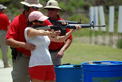 Boy Scouts Shooting Event