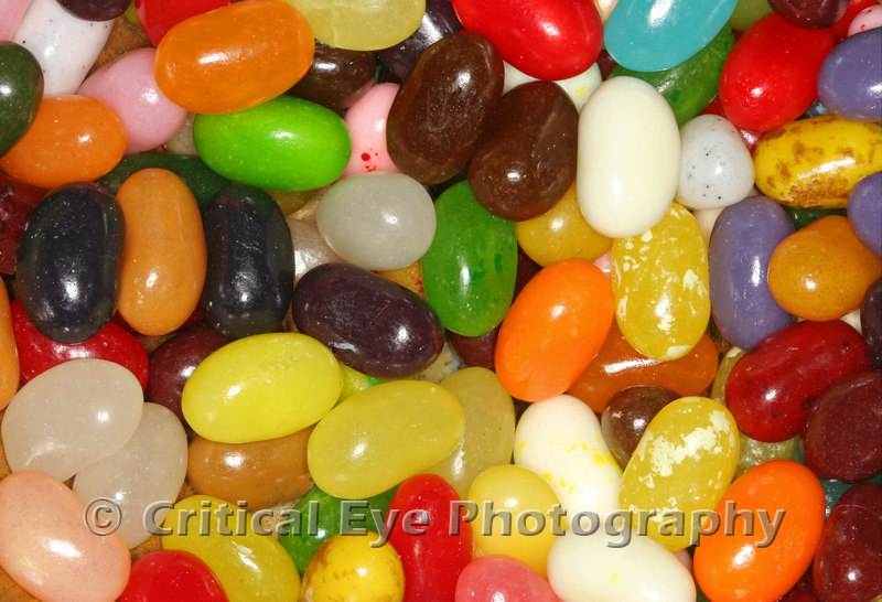Jelly Beans in a Bowl, Hi-Def Macro