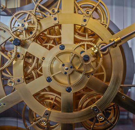 Jens Olsens World Clock in Copenhagen. Photo: Martin Bager.