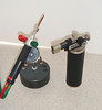 Figure 17 – Two of the torches I use in Repair Work<br /> <br /> <br /> Solder can be the bane of a repair person, or it can be the perfect solution to a problem.  I hope this Tid-Bit gives you at least one way to make your future repairs a little easier as well as more attractive and effective.