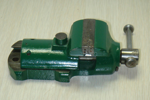 Figure 12 – Boley Bench Vise<br /> <br /> The last of the vises that I keep at my bench is another small Boley vice (Figure 12) that I can set on my bench to hold small things for inspection or delicate manipulation.