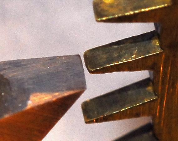 Tid-Bit 7 - Tipping Escape-Wheel Teeth