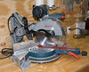 "A power miter saw - a new model from Bosch, nicknamed the ""Glide"" - does a wonderful job of cutting miters when making replacement trim pieces."