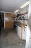 Looking through door into garage.