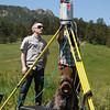 Testing the new TLS. 6 June 2013.<br /> UNAVCO intern: Shawn Carr
