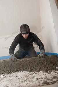 Screed,zandcementvloer,chape