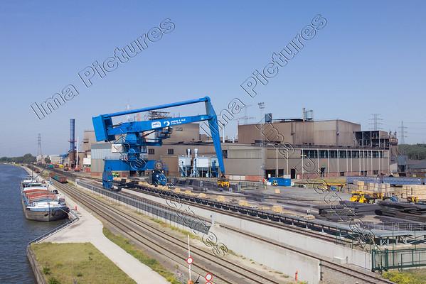 steelplant staalfabriek usine sidérurgique