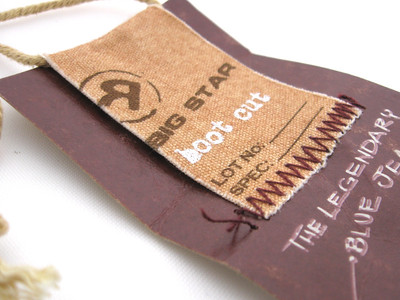stitching | hang tags