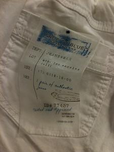 organza printed pocket flasher