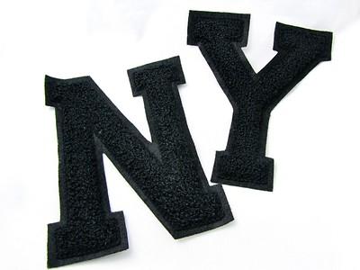 felt letter patch