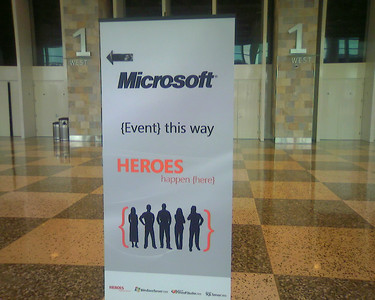 Microsoft Heroes Happen Here Launch