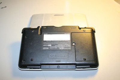 Back of the DS