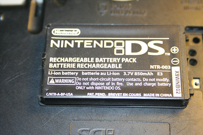 DS Phat battery